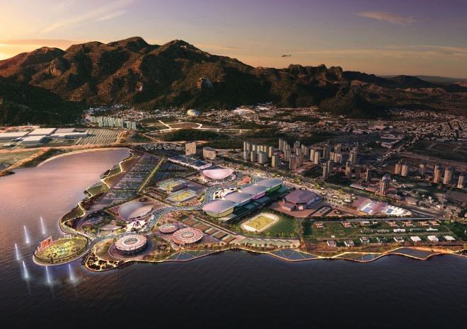 Rio de Janeiro has grand plans for their Olympic Village.