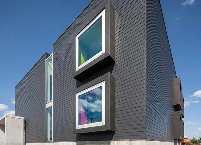 Cpd 20 2014 Fibre Cement Slate Cladding Features Building