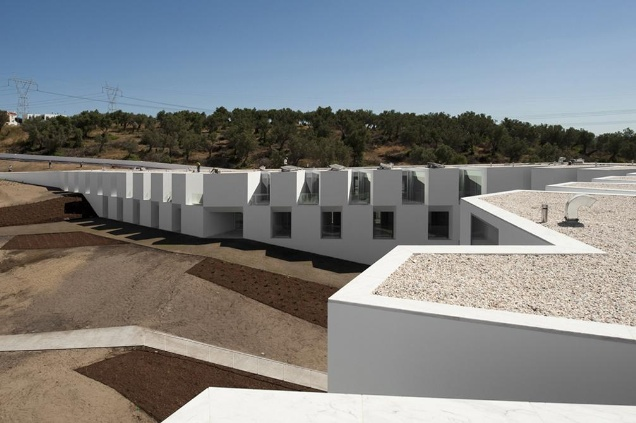 House for Elderly People, Alcácer do Sal, Portugal by Aires Mateus Arquitectos