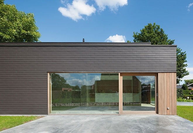 Fibre Cement Board Cladding : Cpd fibre cement slate cladding features building