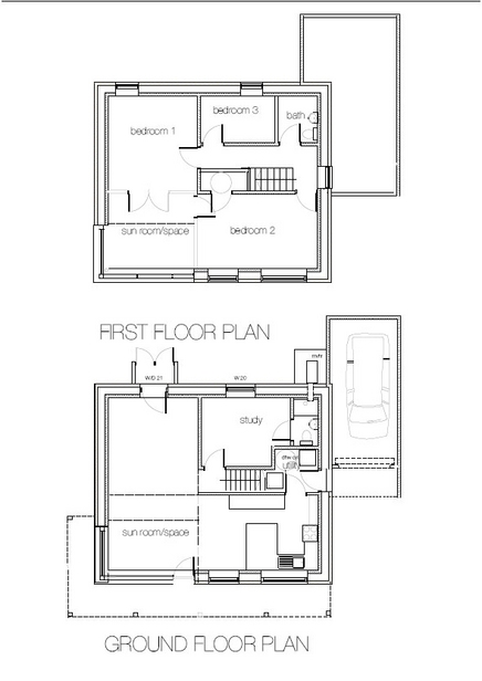 The passivhaus diaries part one green for go online for One of a kind house plans