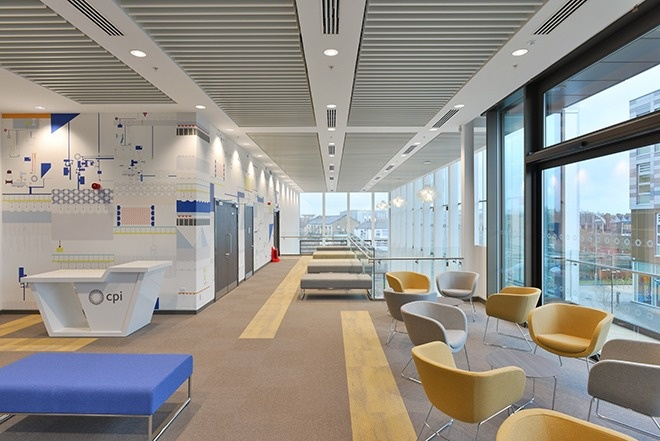 Cpd 8 2016 specifying suspended ceilings for health and for Office design wellbeing