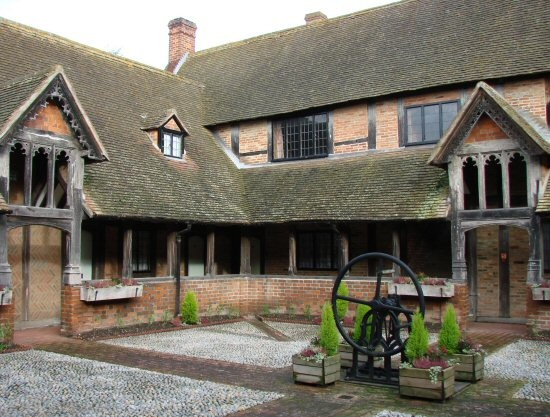Ewelme Almshouses, United Kingdom