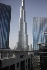 Derek Roy's office view from EC Harris Dubai