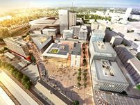 Foster & Partners' Central Square plan for Cardiff