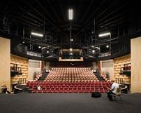 The 350-seat auditorium is now capable of multiple stage configurations