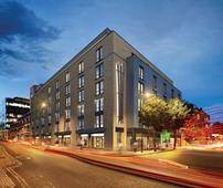 Premier Inn in King's Cross, London, designed by Axiom Architects
