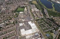 Tottenham Hale aerial photo