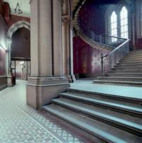 The grand staircase in the St Pancreas hotel