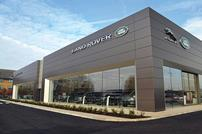 New Jaguar Land Rover dealership at Manor Royal, Crawley