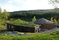 Coed y Brenin Visitor Centre in Snowdonia by Architype