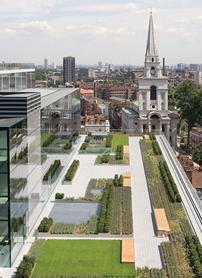 Bishop's Square development in Spitalfields, east London