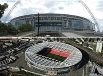 Wembley and Etihad stadiums