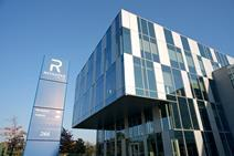 Reynaers choose its CW 86 unitised curtain walling system for its own head office in Duffel, Belgium