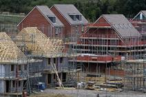 New homes being built at a garden village