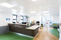 Armstrong Ceilings' CoolZone tiles incorporating phase-change materials were installed to help maintain a stable temperature at the Bristol Royal Infirmary without additional cooling