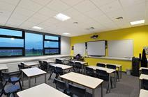Armstrong's CoolZone phase change materials were installed at Belvoir High School in Nottingham