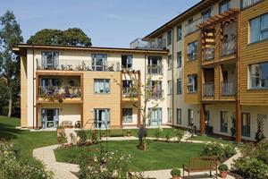 Cost model extra care housing magazine features building for How to build a retirement home
