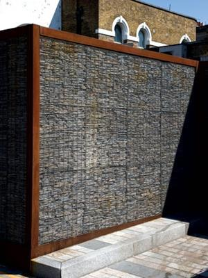 Mesh for gabion walls from Hy Ten Features Building