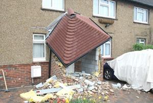 Unpaid Builder Demolishes Customer 39 S Porch And