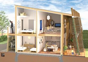 39 affordable 39 carbon neutral homes set for completion next for Carbon neutral home designs