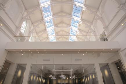 York Art Gallery: A new mezzanine level reveals the once secret gallery