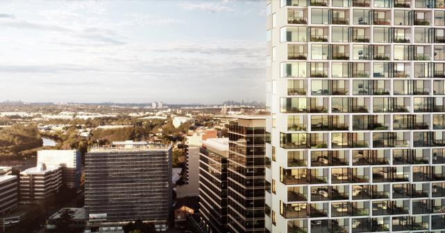 Grimshaw's Aspire Tower in Parramatta Australia